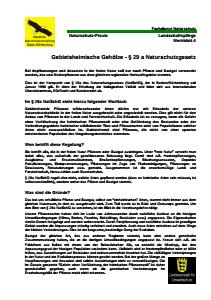 Bild der Titelseite der Publikation: Gebietsheimische Gehoelze - § 29 a Naturschutzgesetz