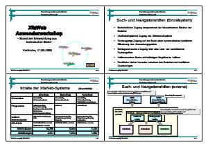 Bild der Titelseite der Publikation: XfaWeb-Anwenderworkshop