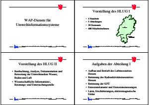 Bild der Titelseite der Publikation: 3. Workshop WAP-Dienste für die Umweltinformationssysteme Baden-Württemberg und Hessen