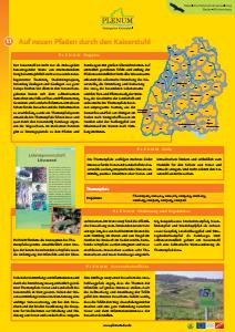Bild der Titelseite der Publikation: 11 Themenpfade