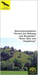 """Bild der Titelseite der Publikation: Naturschutzgebiete """"Enzaue bei Roßwag und Burghalde"""" """"Roter Rain und Umgebung"""""""