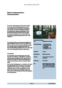 Bild der Titelseite der Publikation: Streusammler