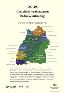 Bild der Titelseite der Publikation: Umweltinformationen aus den Ressorts