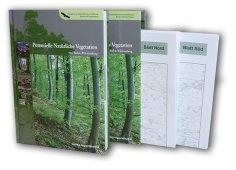 Bild der Titelseite der Publikation: Potentielle natürliche Vegetation von Baden-Württemberg