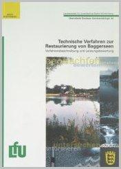 Bild der Titelseite der Publikation: Technische Verfahren zur Restaurierung von Baggerseen