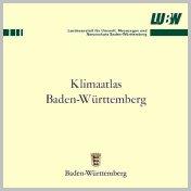 Bild der Titelseite der Publikation: Klimaatlas Baden-Württemberg