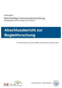 Bild der Titelseite der Publikation: Nachhaltige Kommunalentwicklung