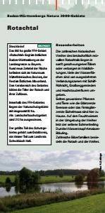 Bild der Titelseite der Publikation: Natura 2000 gemeinsam umsetzen - Rotachtal