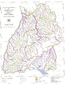Bild der Titelseite der Publikation: Übersichtskartierung des morphologischen Zustands der Fließgewässer in Baden-Württemberg 1992-1993