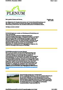 Bild der Titelseite der Publikation: Newsletter 2010