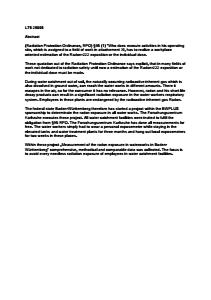 Bild der Titelseite der Publikation: Radonerhebungsmessungen in Wasserwerken in Baden-Württemberg