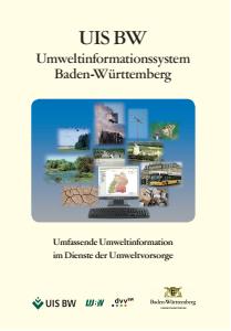 Bild der Titelseite der Publikation: UIS BW - Umweltinformationssystem Baden-Württemberg
