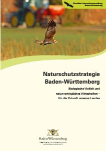 Bild der Titelseite der Publikation: Naturschutzstrategie Baden-Württemberg - Kurzfassung mit Bildern