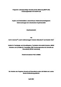 Bild der Titelseite der Publikation: Kupfer und frühkindliche Leberzirrhose: Molekulartoxikologische Untersuchungen der chronischen Kupfertoxizität