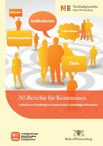 Bild der Titelseite der Publikation: N!-Berichte für Kommunen
