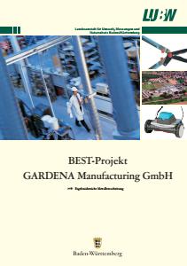 Bild der Titelseite der Publikation: BEST-Projekt Gardena Manufactoring GmbH