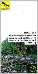 Bild der Titelseite der Publikation: Natur- und Landschaftsschutzgebiet Jagsttal mit Seitentälern zwischen Crailsheim und Kirchberg
