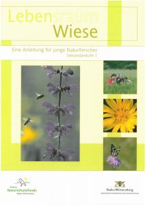 Bild der Titelseite der Publikation: Lebensraum Wiese