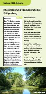 Bild der Titelseite der Publikation: Natura 2000 gemeinsam umsetzen - Rheinniederung von Karlsruhe bis Philippsburg