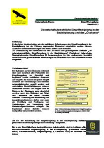 Bild der Titelseite der Publikation: Die naturschutzrechtliche Eingriffsregelung in der Bauleitplanung und das Ökokonto