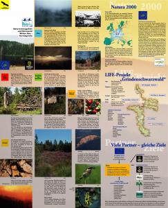 Bild der Titelseite der Publikation: Naturschutzgebiet und Bannwald Wilder See - Hornisgrinde