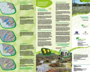 Bild der Titelseite der Publikation: Naturschutzgebiet Wurzacher Ried
