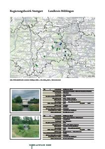 Bild der Titelseite der Publikation: Hochwasserrückhaltebecken und Talsperren im Regierungsbezirk Stuttgart