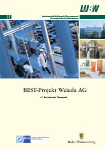 Bild der Titelseite der Publikation: BEST-Projekt Weleda AG