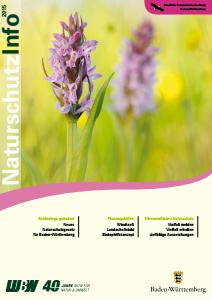 Bild der Titelseite der Publikation: Naturschutz-Info 2015 Heft 1-2