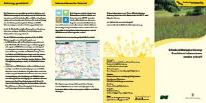 Bild der Titelseite der Publikation: Offenland-Biotopkartierung: Geschützte Lebensräume werden erfasst!