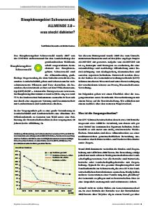 Bild der Titelseite der Publikation: Biosphärengebiet Schwarzwald: ALLMENDE 2.0 – was steckt dahinter?