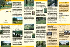 Bild der Titelseite der Publikation: Mit der SSB in die Naturschutzgebiete in und um Stuttgart