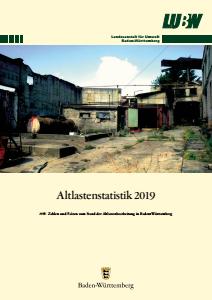 Altlastenstatistik 2019