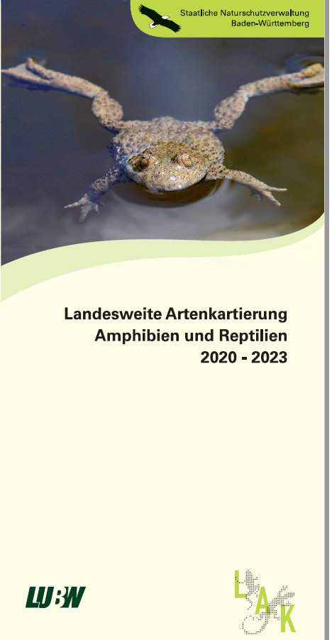 Landesweite Artenkartierung Amphibien und Reptilien 2020 - 2023