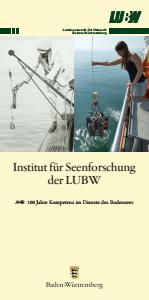 Institut für Seenforschung der LUBW