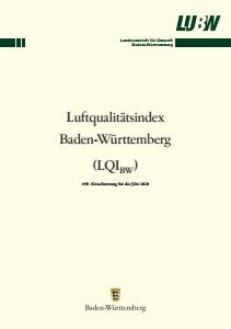 Luftqualitätsindex Baden-Württemberg