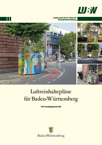 Luftreinhaltepläne für Baden-Württemberg