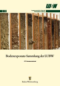 Bodenexponate-Sammlung der LUBW